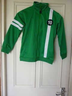 Ben 10 Ultimate Alien Green Child Tracksuit/Jacket Top Sizes 6 to 8