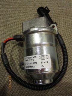 Electric Motor 12V DC for F1 hydraulic pump Ferrari 360