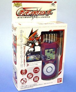 JAPAN DIGIMON XROS WARS XROS LOADER RED COLOR DIGIVICE DATA LINK RARE