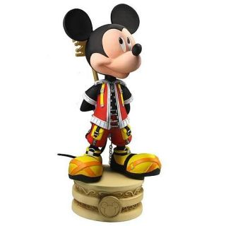 DISNEY NECA KINGDOM HEARTS MICKEY MOUSE HEAD KNOCKER BOBBLE HEAD