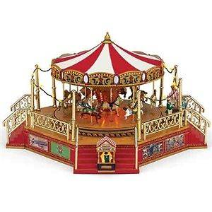 Mr. Christmas #79859 Worlds Fair Boardwalk Carousel NIB