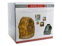 Audio Unlimited Sandstone Wireless Rock Speaker (Rechargeable) with