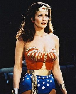 Lynda Carter as Wonder Woman in Wonder Woman 24X30 Poster sexy low cut