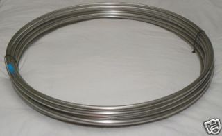 316/316L SS Tubing Coil  1/2 OD x 100 Stainless Steel