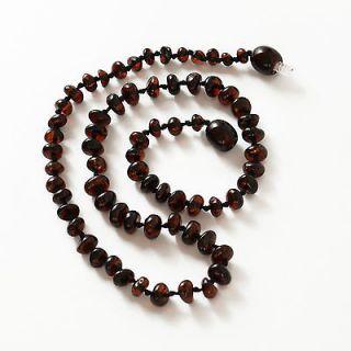 cherry amber necklace  bakelite