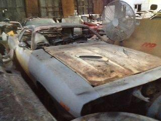 1974 plymouth cuda barracuda parts car 360 a/c rally dash complete