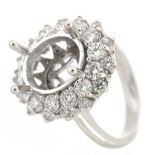 Diana  Kate Middleton Diamond Engagement Ring Setting 1.67 TCW