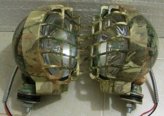 130 WATT OFF ROAD CAMO 6 INCH DUCK HUNTING DRIVING/FOG LIGHTS BOAT