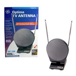 GE TV94713 Optima Indoor TV Antenna With Passive Microwave Circuitry