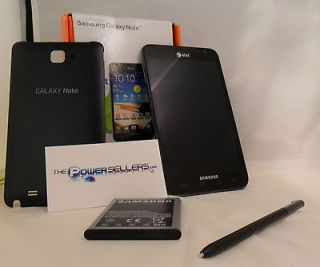 Excellent Samsung Galaxy Note LTE SGH I717  16GB Carbon blue(AT&T