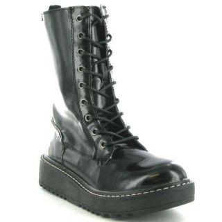 Rocket Dog Boots Genuine Tavern Womens Boot Black Sizes UK 4   8