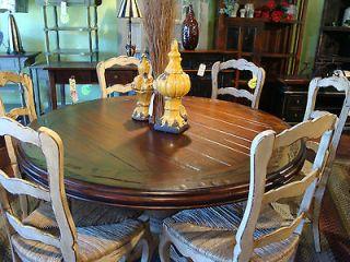 round pedestal table in Home & Garden