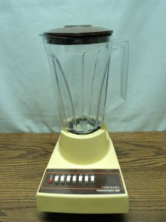 Vintage Hamilton Beach Gold 7 Speed Blender Food Processor Model