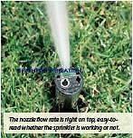Irrigation Sprinklers Gear Drive Hunter SRM04 Adj