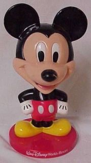 Kelloggs Walt Disney World Mickey Mouse Bobblehead in Box 2002 bobble