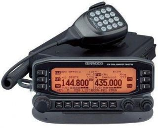 kenwood (tm d700, tm d710) in Ham Radio Transceivers