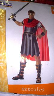 Hercules Greek God Halloween Costume Adult XL NWT