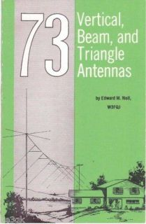 Vertical, Beam and Triangle Antennas CDROM   PDF
