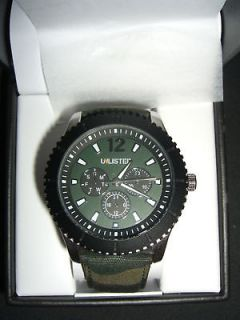 Kenneth Cole Mens Watch  Unlisted Series  Canvas