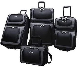 pc Rolling luggage set wheels UPright suitcase,tote