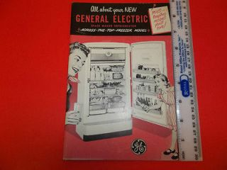 vintage refrigerator ge in Collectibles