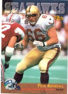 1996 Classic Draft #80 PETE KENDALL Boston College EAGLES Weymouth