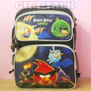 Angry Birds Space School Backpack, Large School Bag   16