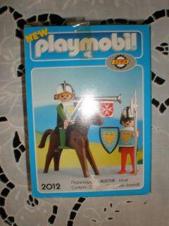 1978 VINTAGE PLAYMOBIL LYRA GREEK 2012 GERMAN MEDIEVAL KNIGHTS MIB