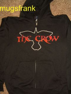The Crow Movie Killer of Killers Zip up Hoodie Jacket Shirt