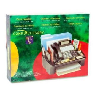 Compucessory Telephone Stand And Organizer   CCS55200