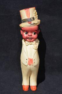 Antique Black Americana Male Vaudeville Kewpie Doll   African American