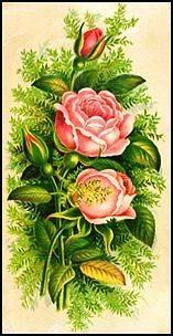 30 Custom Pink Rose Art Personalized Address Labels