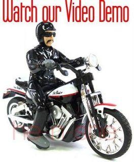18 Mini RC Radio Remote Control Motorcycle Motor bike the thief 9121