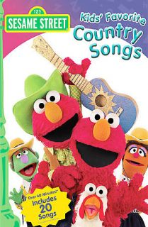 Sesame Street   Kids Favorite Country Songs (DVD, 2