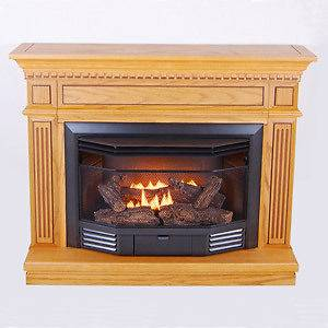 VENTLESS GAS STOVE HEATER FIREPLACE NATURAL GAS PROPANE