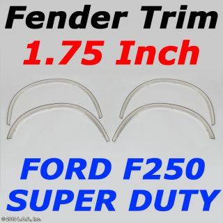 Stainless Dually Chrome Fender Wheel Well Trim Molding 08 10 Ford F250