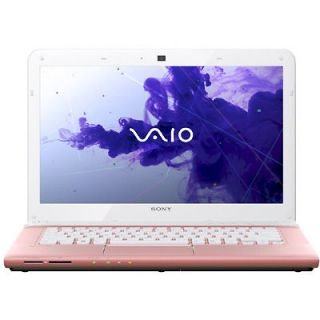 Sony VAIO E14 Series SVE14122CXP 14 Inch Laptop  Pink