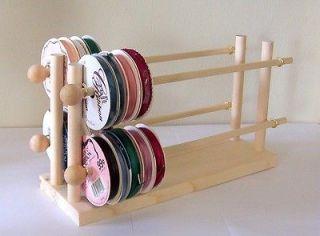 Newly listed Scrapbook Ribbons Holder Storage Rack Organizer 75