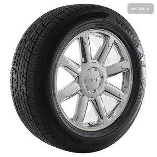 20 inch 2009 gmc sierra 2009 yukon denali chrome rims wheels and tires. Black Bedroom Furniture Sets. Home Design Ideas