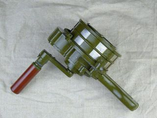 Replica of WW2 Japanese Army Hand Crank Siren(Canvas Bag Included)