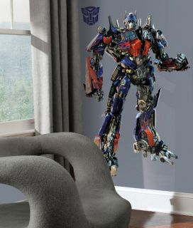 Transformers Optimus Prime Wall Sticker Decal Mural RoomMates