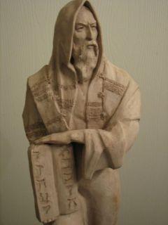 Moses Sculpture   Austin Prod. Inc., terracotta statue, #AP3053   RARE