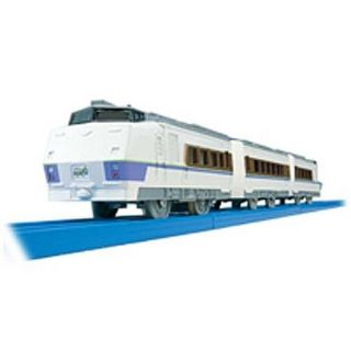 TOMY PLARAIL S 13 KIHA 183 SKY HAWK TRAIN WITH 2 TRUCKS