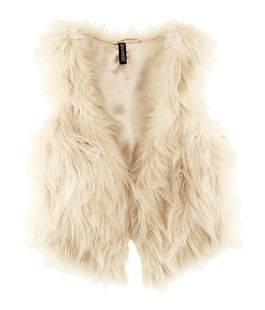 2012 New Fashion Vintage Trend Celeb Faux Fur Waistcoat Vest Coat Nrf