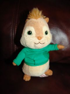 Ty Beanie Babies Alvin and the Chipmunks Theodore Plush Doll 6 1/2