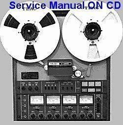 TEAC A 3440 REELTO REEL SERVICE MANUAL ON A CD FREE S/H