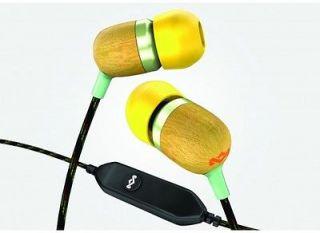 HOUSE OF MARLEY JAMMIN SMILE JAMAICA Headphones Bob CURRY 1 Button