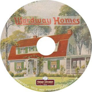 Montgomery Ward ~ Wardway Homes {8 Vintage House Kit ~ Catalogs} on