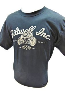 Biltwell Inc. Classic Motorcycle T Shirt Chopper Bobber