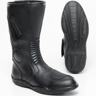 altimate bristol mens waterproof motorcycle boot sz 13 or batman